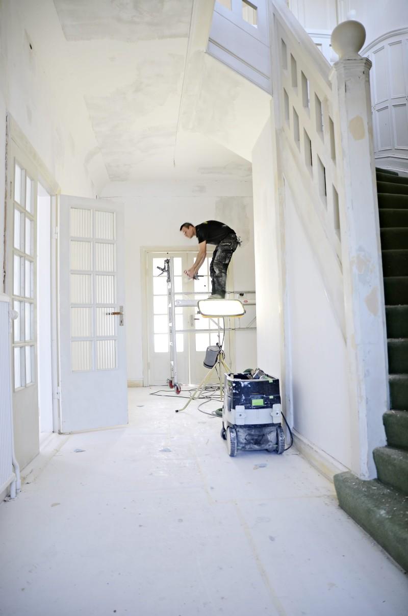 inre hallen renovering