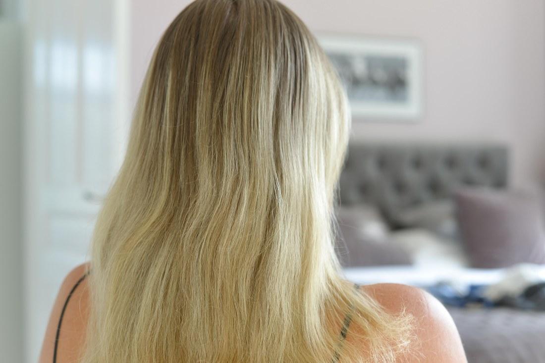 sluta färga håret